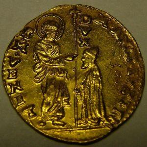 Zecchino o ducado de oro de Venecia , de Marco Antonio Giustinian (1684-1688) 360489846