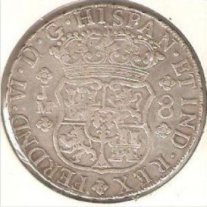 8 Reales de Fernando VI (Lima, 1757) 36394993