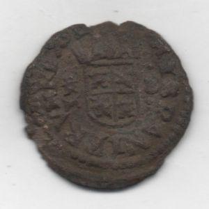 """16 Maravedíes """"busto"""" de Felipe IV (Trujillo, 1661-1664) 37337748"""