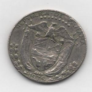 Panamá, 1/4 Balboa, 1975. 391850622