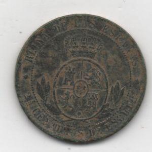 2 1/2 Céntimos de Escudo de Isabel II 417921823