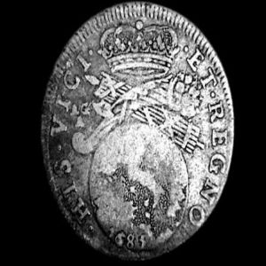 tari carlos ii - Tari de 26 granos a nombre de Carlos II    434585135
