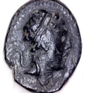 AE 16 seleucida de Antioco IV Epifanes acuñado en Mopsos, Cilicia 436275961