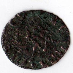 Dinero de Enrique II (Zamora, 1373) [WM n° 9182] 440408160