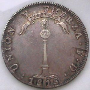 Monedas de Chile - Epoca Colonial e Republicana 441533172