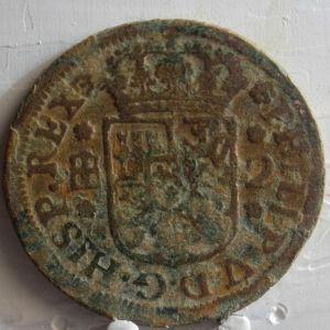 2 Maravedís Felipe V (Segovia, 1745) 445555238