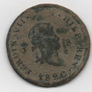 8 Maravedíes de Fernando VII (Jubia, 1820) 44755289