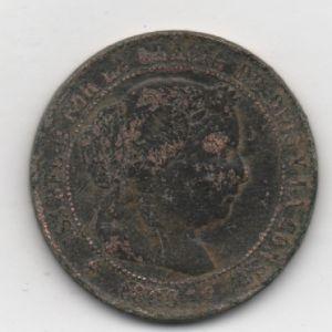 2 1/2 Céntimos de Escudo de Isabel II 469210906