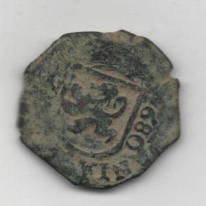 2 Maravedíes de Carlos II (Madrid, 1680) 470542504