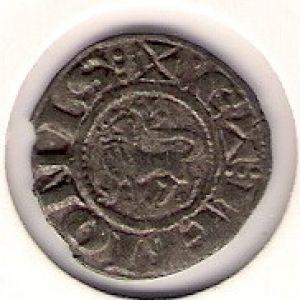 Dinero de Alfonso X (Murcia, 1270) [Roma 201, 3] [WM n° 8520] 470550209