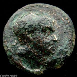 AE 22 de Tarcondimotus I. c. 39-31 AC, Rey de Cilicia 490220723