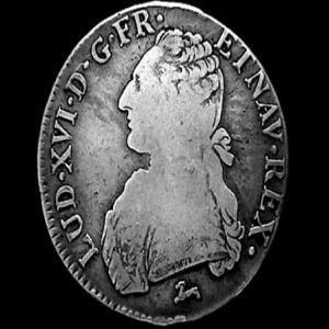 1 Escudo a nombre de Luis XVI de Francia. 49583228