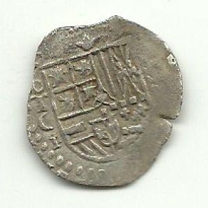 1 Real de Felipe II (Toledo, 1596) - ensayador Juan Caballero 5016165
