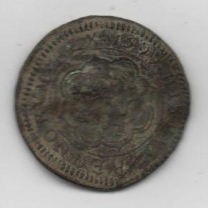 4 Maravedís de Felipe III (Ingenio Segovia, 1599) ensayador Melchor Rodríguez del Castillo 524936438