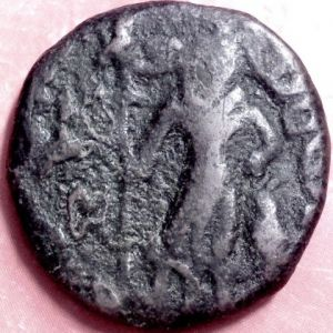AE Tetradracma de los Yaudheyas del Punjab 534001091