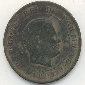10 reis de  Carlos I de Portugal 535160793