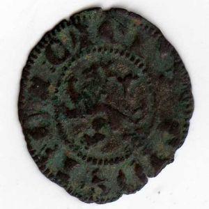 Dinero de Enrique II (Sevilla, 1373) [WM n° 9180] 540192022