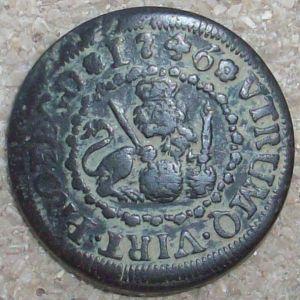 2 Maravedís de Felipe V (Segovia, 1746) 541668126