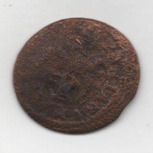 4 Maravedíes de Felipe III (Segovia, 1602-1621) con resello al VI/1641-2 543587333