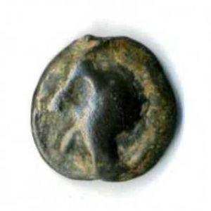 "Potin tipo ""cabeza diabolica"" (Turones, Galia) [WM n° 9208] 544759267"