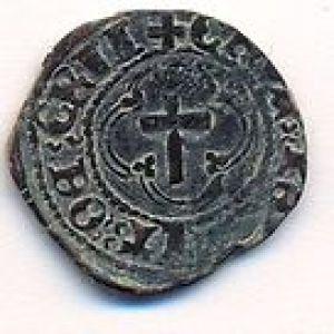 Penique negro de Jacobo III de Escocia 559363785