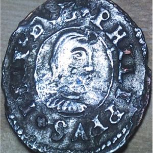 "16 Maravedies ""busto"" de Felipe IV (Coruña, 1661-1664) 567157835"
