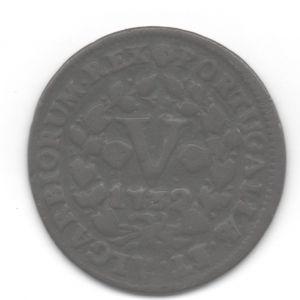Portugal - 5 Réis de D. Joao V (Lisboa, 1732) 570250963