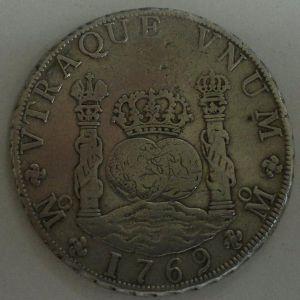 8 Reales de Carlos III, Méjico 1769. 577962452