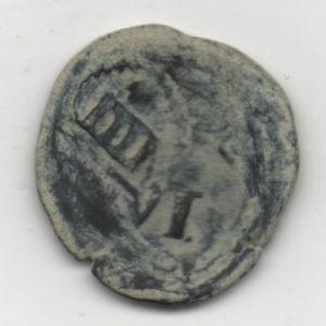 Resello al VI de 1636 yde la ceca de Cuenca, y IIII de 1655 de la ceca de Coruña 587546304