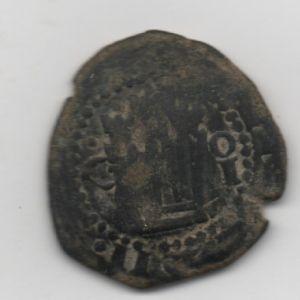 2 Maravedís de Felipe II con resello al IIII/1603 de Burgos 587730906