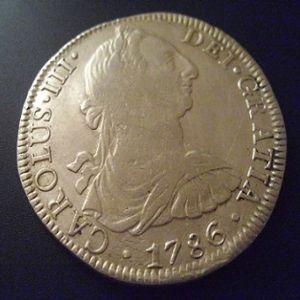 8 Reales de Carlos III (Lima, 1788) 590808531