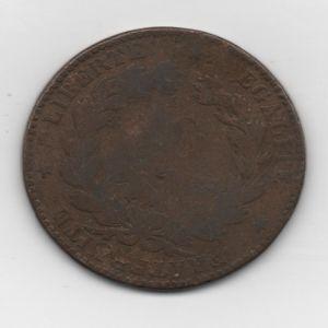 Francia, 10 céntimos, 1895. 595329016