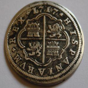 2 Reales Felipe V Segovia (1717) 604240612