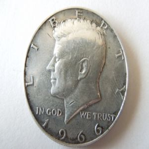 medio dollar 1966 kennedy 623774364