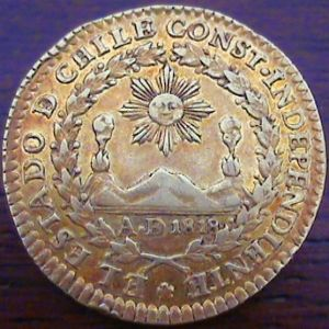 Monedas de Chile - Epoca Colonial e Republicana 632736643