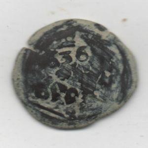 Resello al VI de 1636 yde la ceca de Cuenca, y IIII de 1655 de la ceca de Coruña 633193096