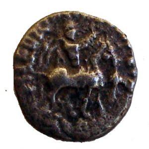 Dracma de vellón Indo-escita de Azes II 637122035