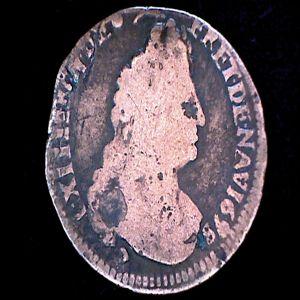 1 Liard de Francia de Luis XIV, 1698. 643050707