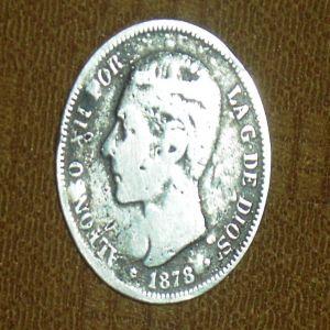 5 pesetas año 1878 ¿Falsa ó original? 653077173