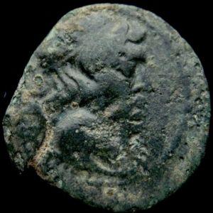 AE 19 de Antioco VII Evergetes Sidetes 658869113