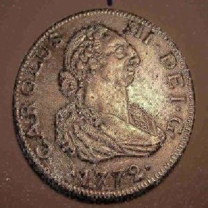 8 Reales de Carlos III, año 1772 (FALSA) 660056191
