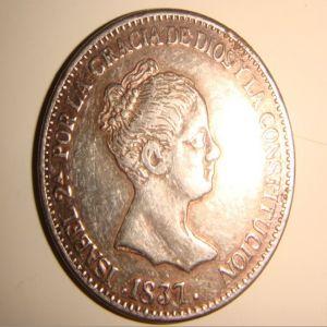 20 Reales de Isabel II (1837), ¿Falsa o inédita? - Página 2 667524223