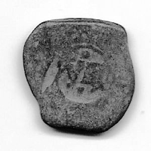8 Maravedíes de Felipe III ó IV, con resello al VIII/1641 673156111