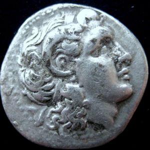 Dracma de Lisimacos, Rey de Tracia, ceca Efeso (dedicado al Maestro Benyusuf 682342550