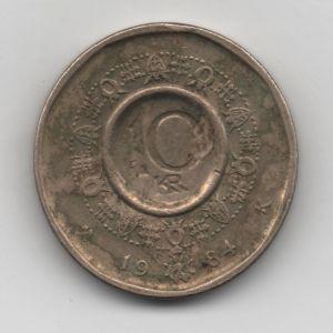 Noruega, 10 Krone de 1984 [KM 427] 685286436