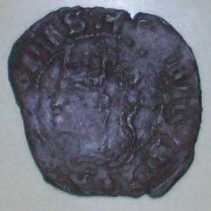 Cruzado de Enrique II (1369) emisiones posbélicas 689958661