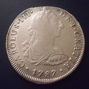 8 Reales de Carlos III (Lima, 1787) 70190775