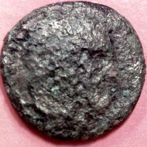 AE 18 de Macedonia del tipo arco y carcaj, y maza. 716350490