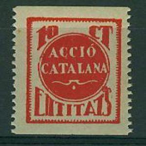 Insignia catalana con la estelada. 719228394