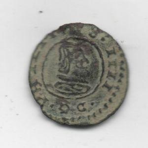 """4 Maravedíes """"busto"""" de Felipe IV (Trujillo, 1664) 723040452"""